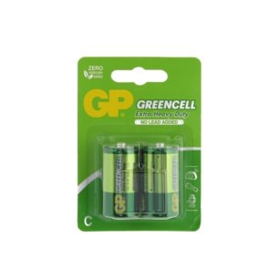 Bateria R14 GP GREENCELL  B2