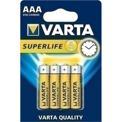 Bateria R03P VARTA SUPERLIFE B4