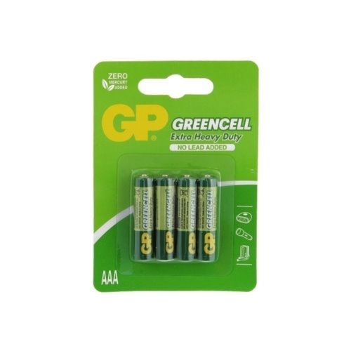Bateria R03 GP GREENCELL  B4
