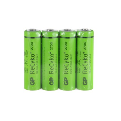 4 x GP Recyko+ New R6/AA 2700mAh Series