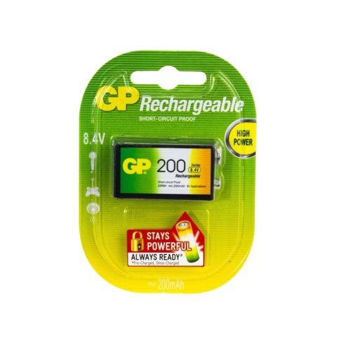GP 6F22/9V 200mAh Series B1